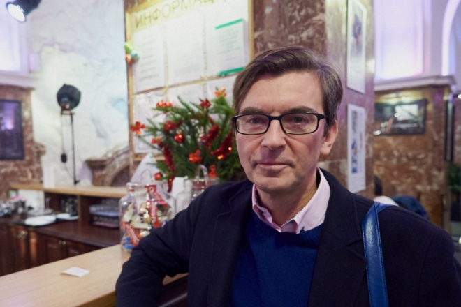 Телеведущий Сергей Шолохов