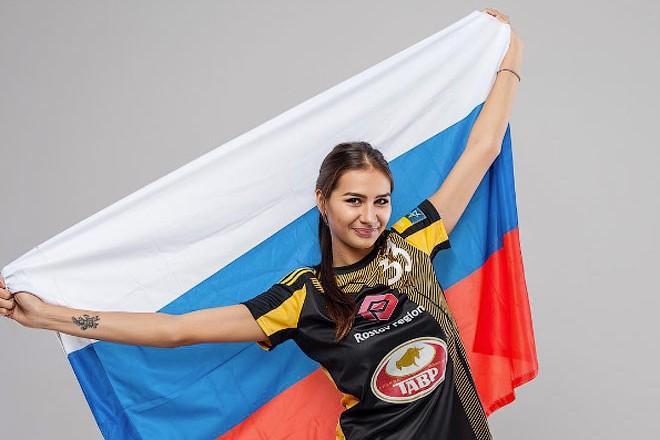 Гандболистка Екатерина Ильина