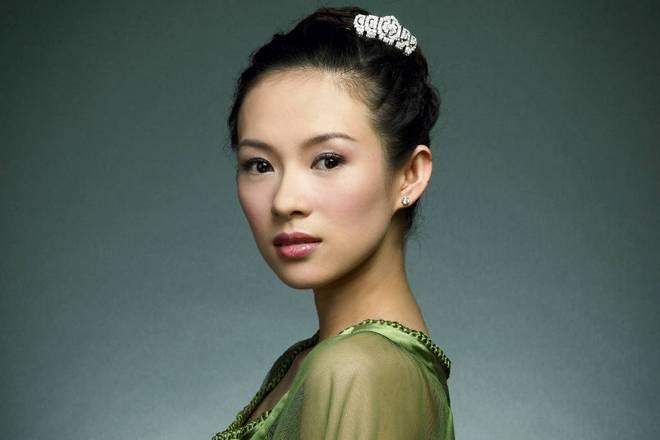 Актриса Чжан Цзыи