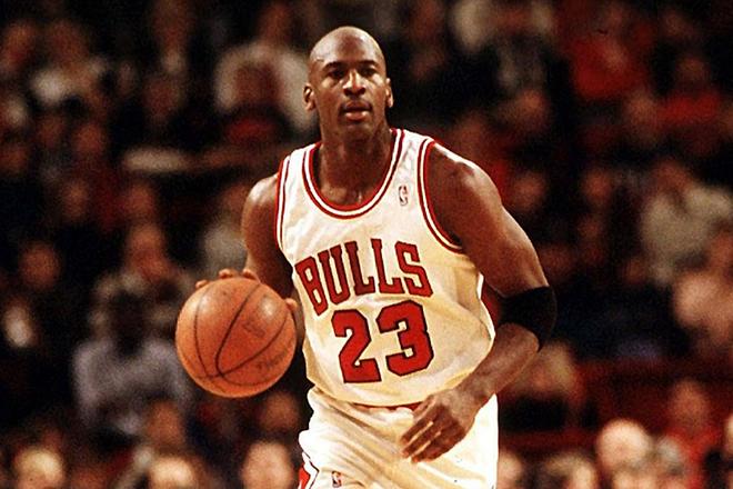 Баскетболист Майкл Джордан