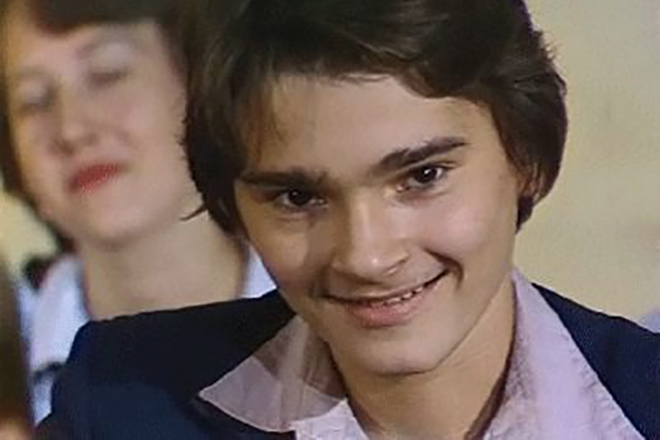Александр Жигалкин в молодости