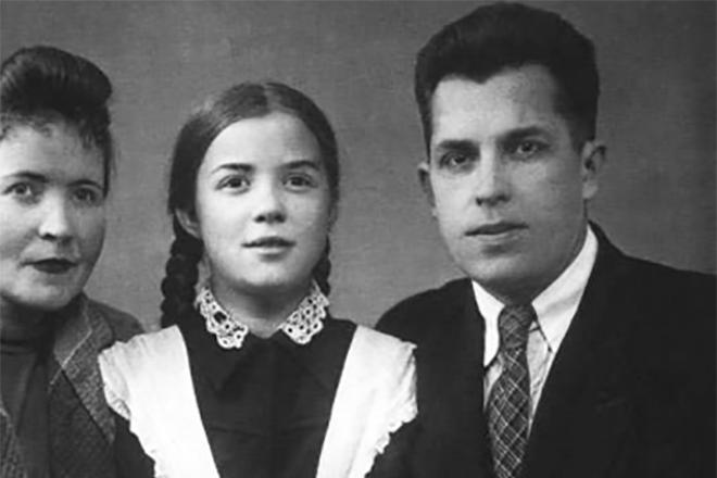 Светлана Карпинская в детстве