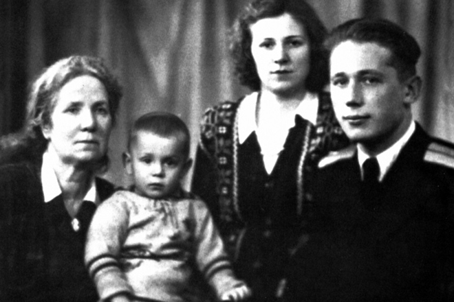 Сергей Степашин в детстве