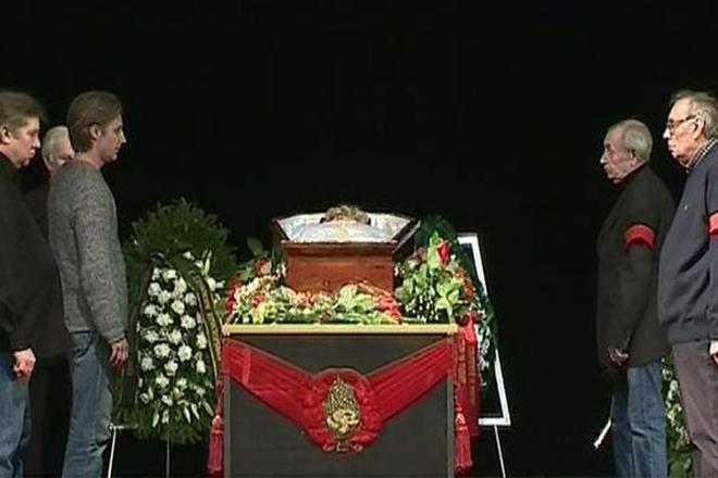 Похороны Светланы Карпинской
