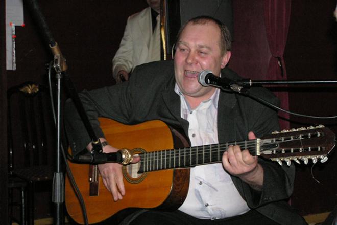 Владимир Гусев на сцене