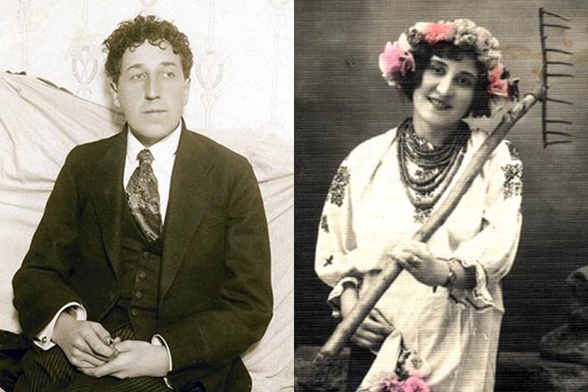 Игорь Северянин и Мария Волнянская