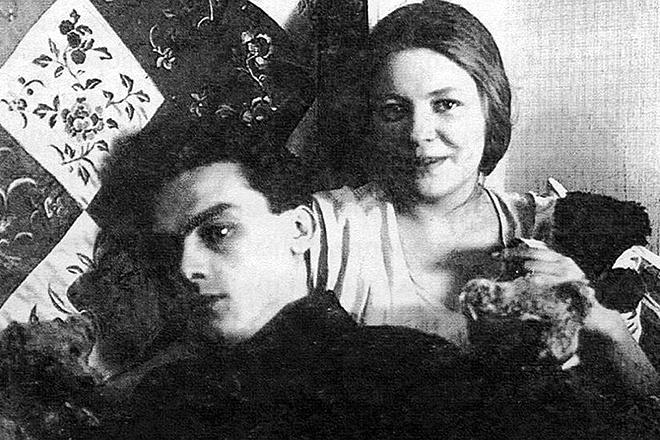Арсений Тарковский и его жена Мария