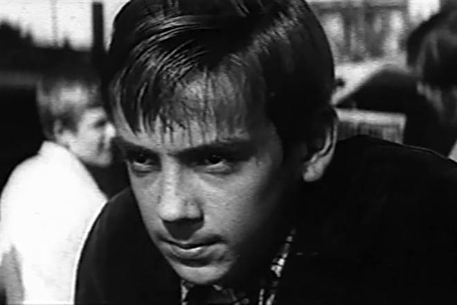 Николай Денисов в молодости