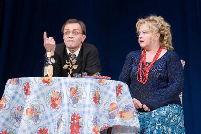 Наталья Егорова на театральной сцене