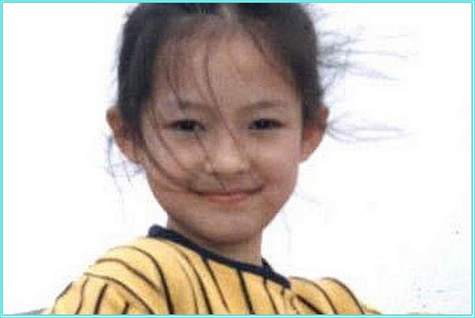 Чжан Цзыи в детстве