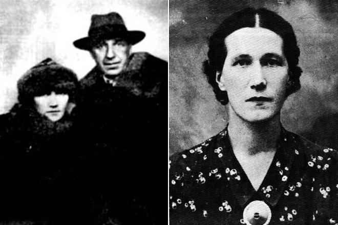 Игорь Северянин и жена Фелисса Круут