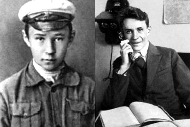 Алексей Косыгин в молодости