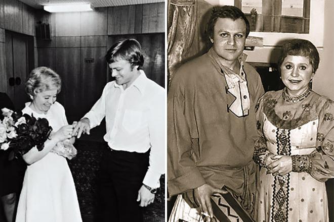 Александр Соловьев и Людмила Гнилова