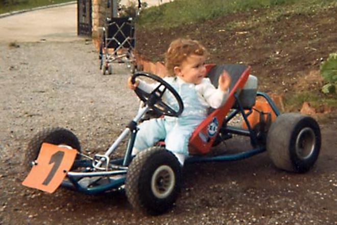 Фернандо Алонсо в детстве