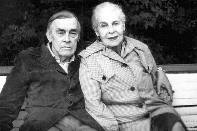 Арсений Тарковский и его жена Татьяна