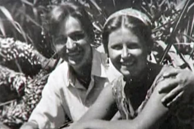 Евгений Крылатов с женой Севиль