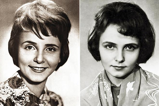 Людмила Крылова в молодости