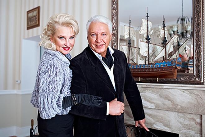 Александр Морозов с женой