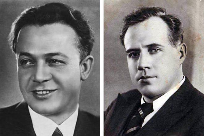 Сергей Лемешев и Иван Козловский