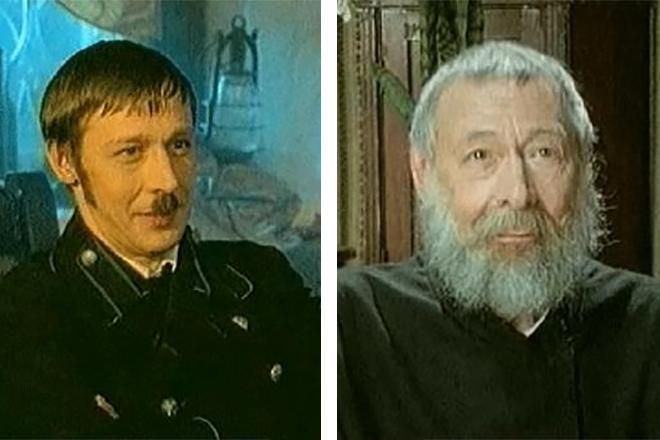 Михаил Ефремов с отцом