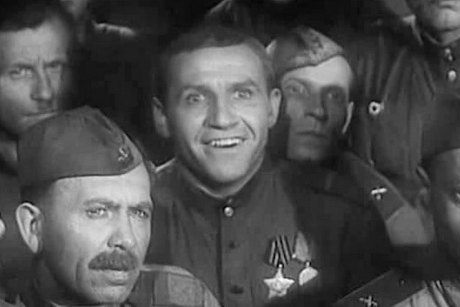 Николай Парфенов в молодости