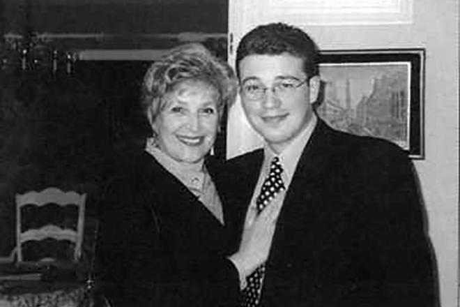 Клара Лучко с внуком Александром