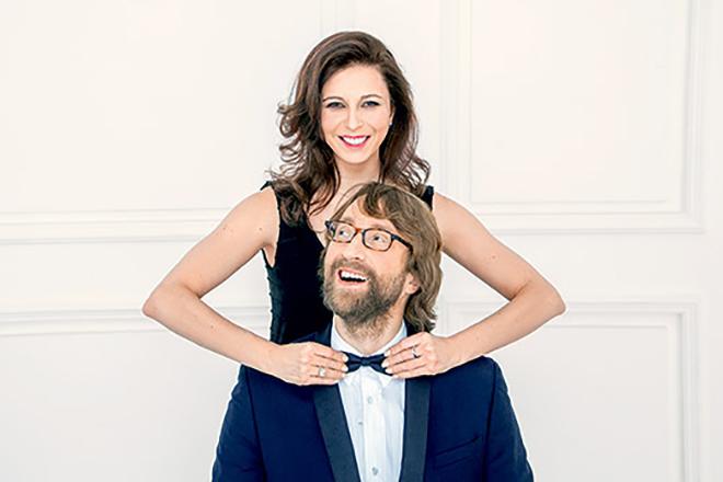 Алиса Хазанова с мужем Дмитрием Шохиным