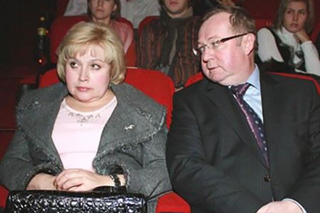 Сергей Степашин с женой