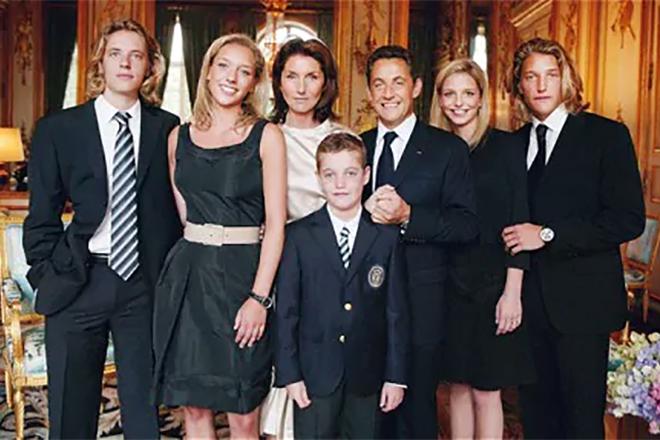 Николя Саркози и его дети