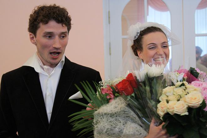 Георгий Фетисов и его жена Мария