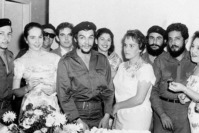 Че Гевара с женой Алейдой Марч