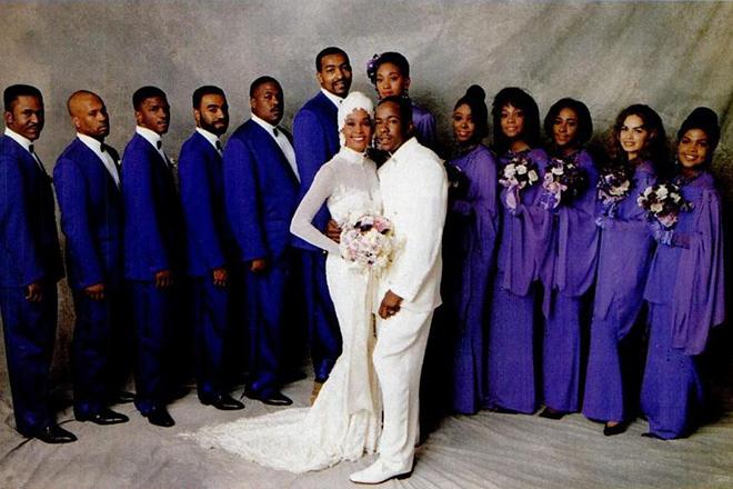 Свадьба Бобби Брауна и Уитни Хьюстон