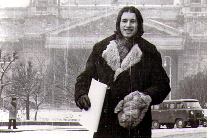 Владимир Сорокин в молодости
