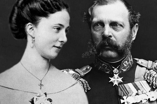 Екатерина Долгорукова и Александр 2