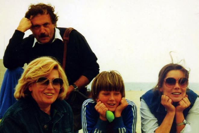 Майя Кармен с семьей