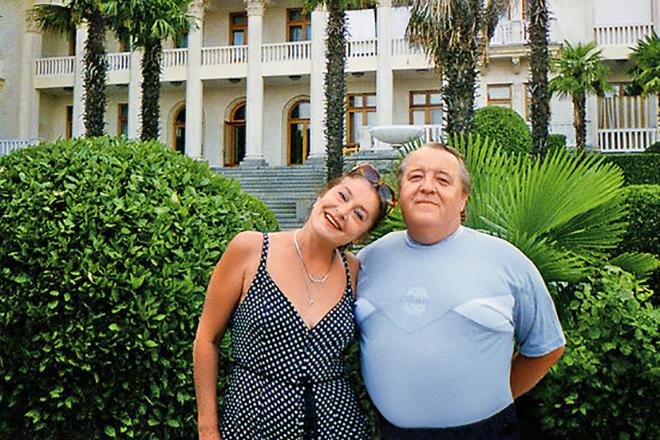 Валерия Заклунная с мужем Александром Мироненко