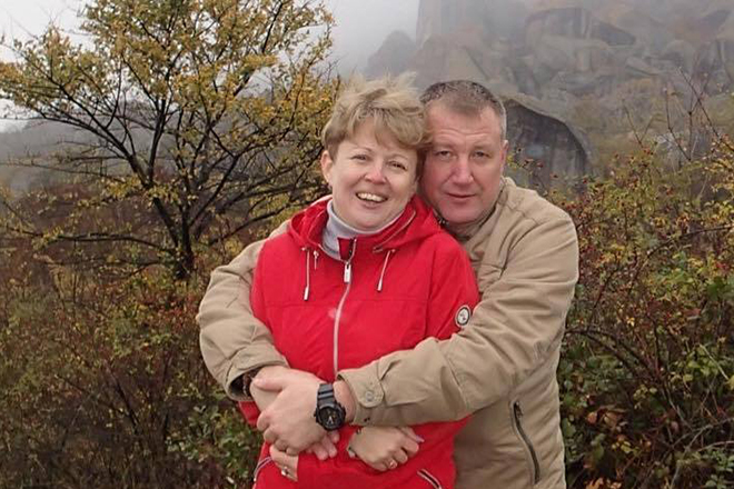 Вадим Панов с женой