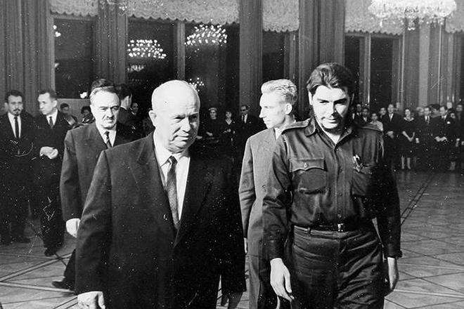 Че Гевара и Никита Хрущев