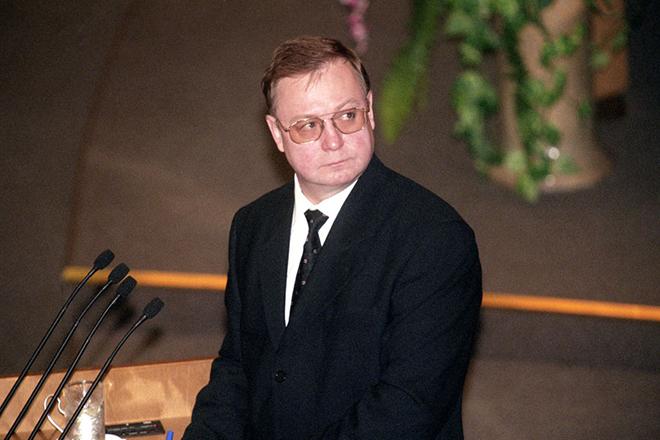Сергей Степашин в 1999 году