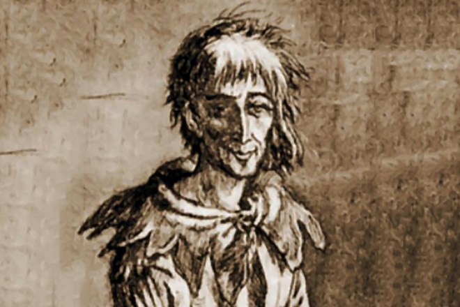 Франсуа Вийон в тюрьме