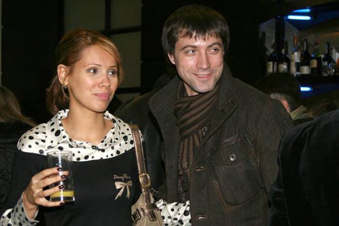 Виталий Емашов с женой Евгенией Серебрянниковой