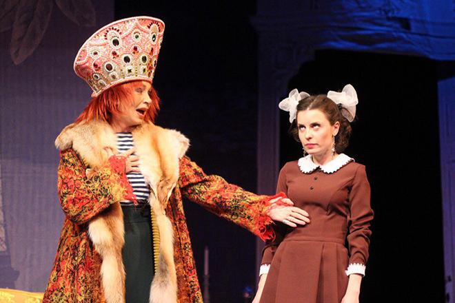 Мария Болонкина в театре