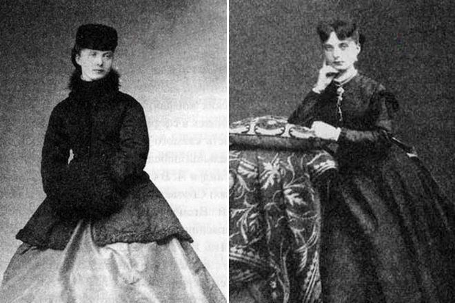Екатерина Долгорукова в юности