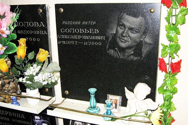 Могила Александра Соловьева