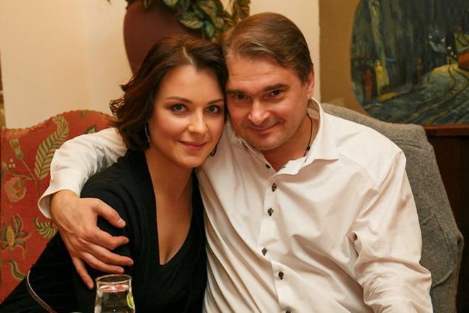 Александр Жигалкин и его жена Светлана Антонова