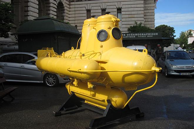 Подводная лодка Жака-Ива Кусто