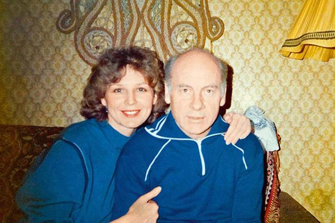 Татьяна Ташкова и ее муж Евгений Ташков