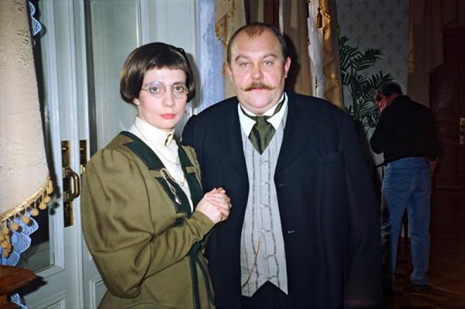 Владимир Гусев на репетиции