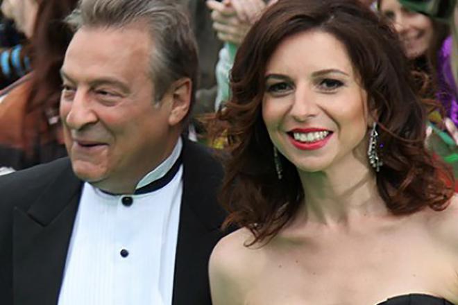 Алиса Хазанова с отцом Геннадием Хазановым
