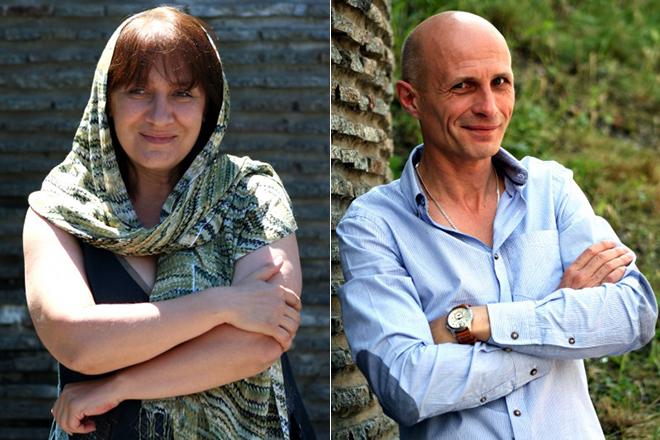 Софья Письман и ее муж Сергей Сипливый